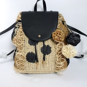Tommy Bahama straw backpack NWT